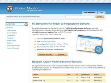 changeagain domainmonitor.ch