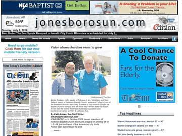 changeagain jonesborosun.com