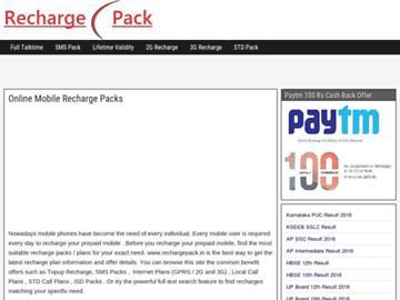 changeagain rechargepack.in