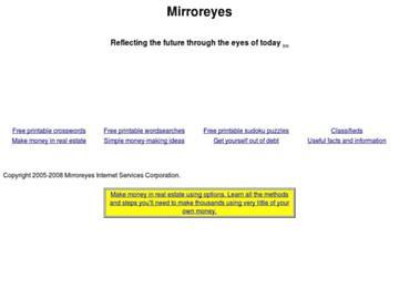 changeagain mirroreyes.com