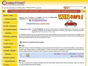 changeagain ukcompetitions.com