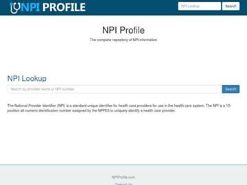 changeagain npiprofile.com