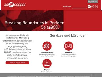 changeagain adpepper.com
