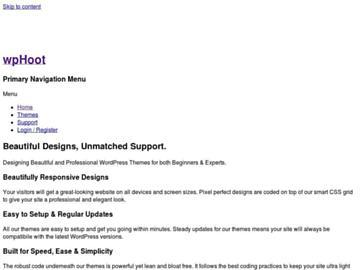 changeagain wphoot.com