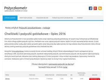 changeagain pozyczkometr.pl
