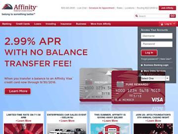 changeagain affinityfcu.com