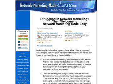 changeagain network-marketing-made-easy.com