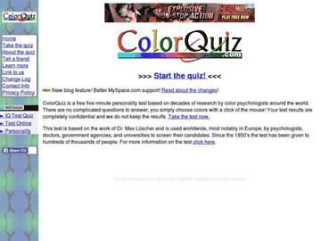 changeagain colorquiz.com