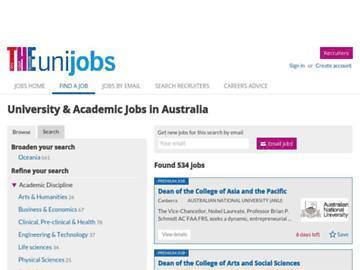 changeagain unijobs.com.au