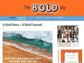 changeagain theboldlife.com