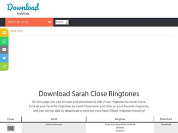 changeagain sarahclose.download-ringtone.com