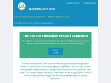 changeagain specialeducationguide.com