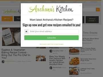 changeagain archanaskitchen.com