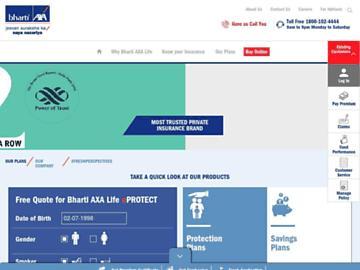 changeagain bharti-axalife.com