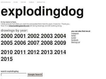 changeagain explodingdog.com