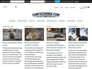 changeagain forcechange.com