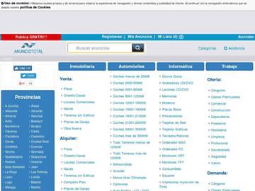 changeagain anunciototal.com