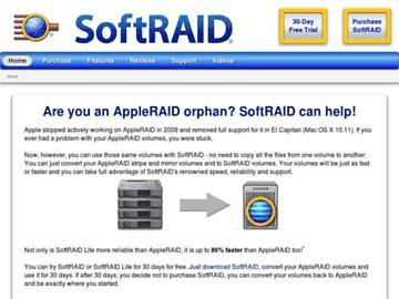 changeagain softraid.com