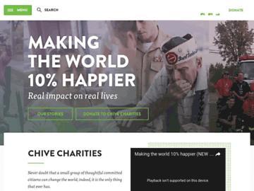 changeagain chivecharities.org