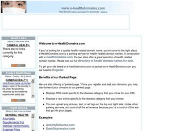 changeagain e-healthdomains.com