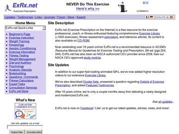 changeagain exrx.net