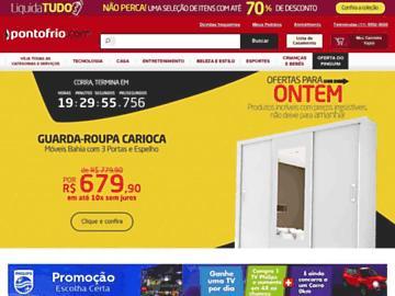 changeagain pontofrio.com.br