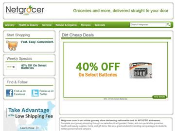 changeagain netgrocer.com