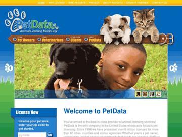 changeagain petdata.com