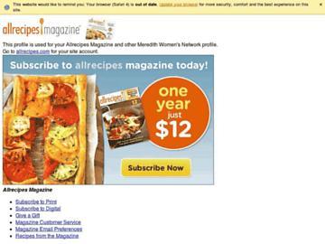 changeagain allrecipesmagazine.com