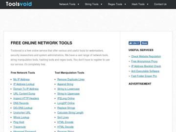 changeagain toolsvoid.com