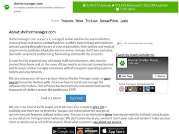 changeagain sheltermanager.com
