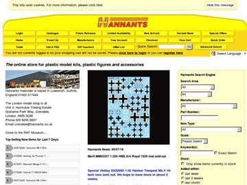 changeagain hannants.co.uk