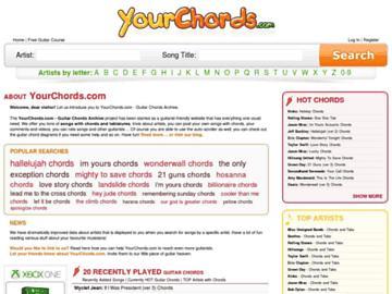 changeagain yourchords.com