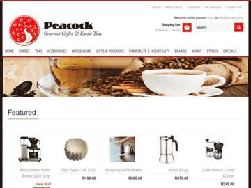 changeagain peacockteaandcoffee.co.za