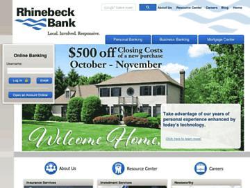changeagain rhinebeckbank.com