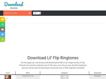 changeagain lilflip.download-ringtone.com