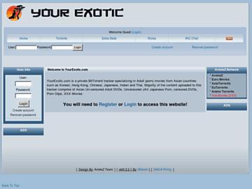 changeagain yourexotic.com