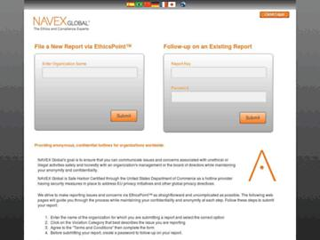 changeagain ethicspoint.com